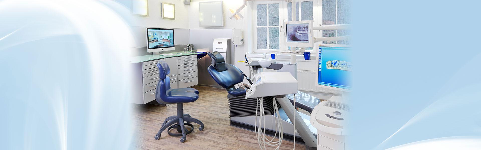 Behandlungszimmer der Zahnärzte für Siegen, Netphen und Umgebung